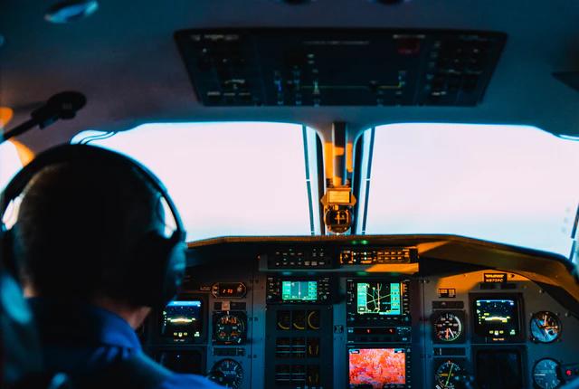 Praca kontrolera ruchu lotniczego