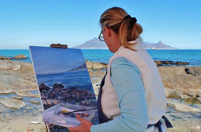 malowanie obrazów działalność